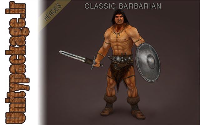 Heroes - Classic Barbarian (unitypackage.ir)