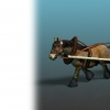 پکیج Horse - Cart Horse + Farmer