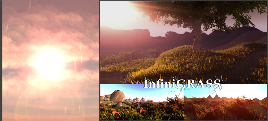 پکیج InfiniGRASS – Next Gen Interactive Volume Grass
