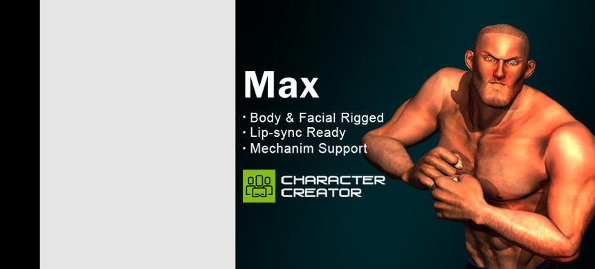 پکیج Max – iClone Character