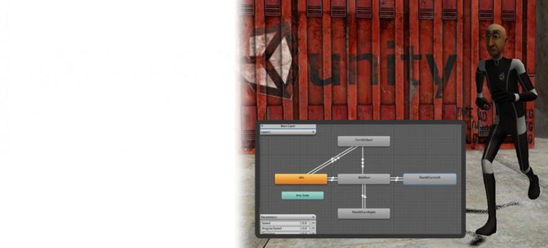 پکیج Mecanim Locomotion Starter Kit