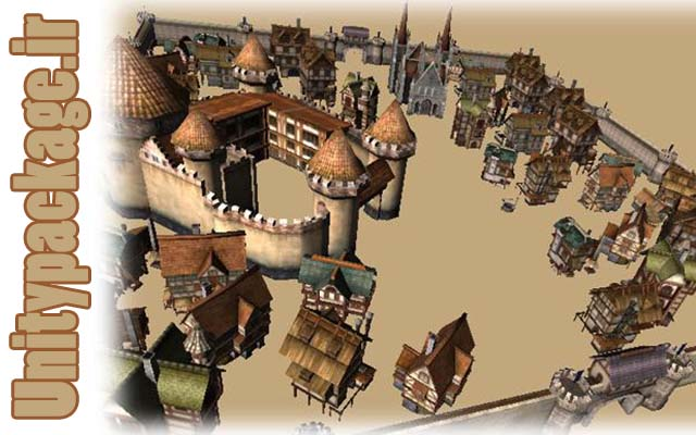 Medieval Europe Buildings pack (unitypackage.ir)
