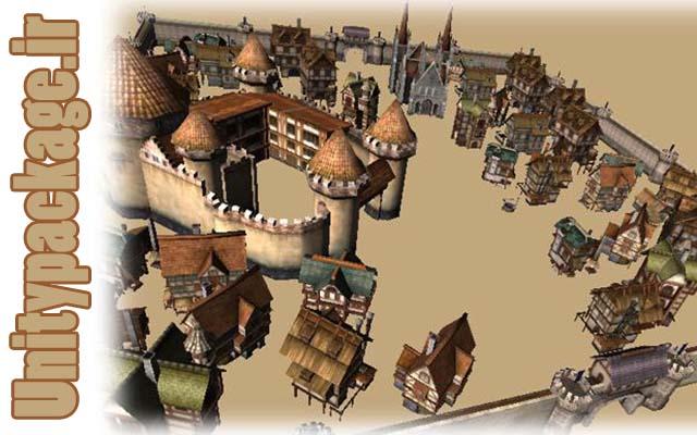 پکیج Medieval Europe Buildings pack