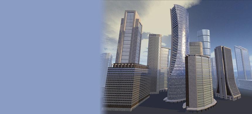 پکیج Modern Building Pack Vol 1