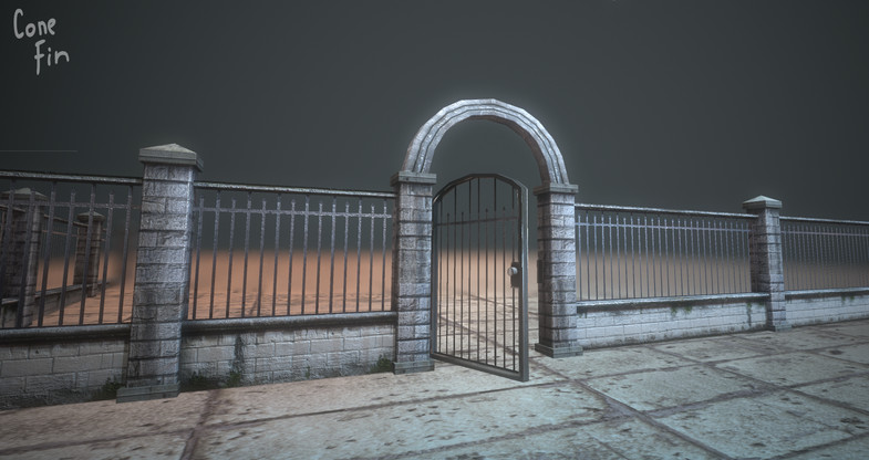 پکیج Modular Fences pack