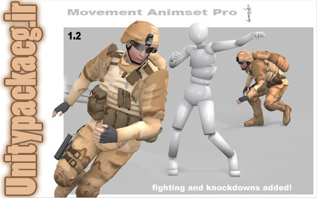 پکیج Movement Animset Pro 1.25