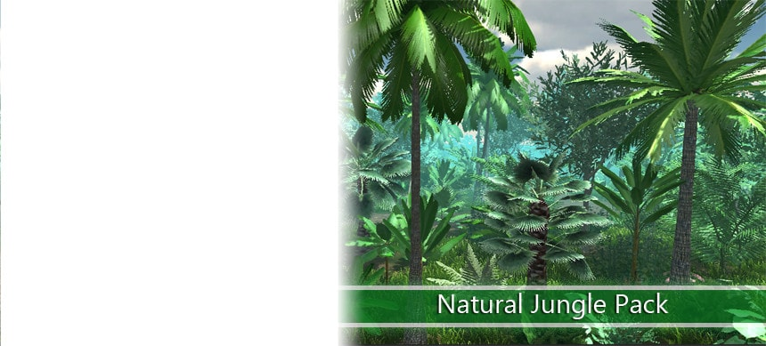 پکیج Natural Jungle Pack