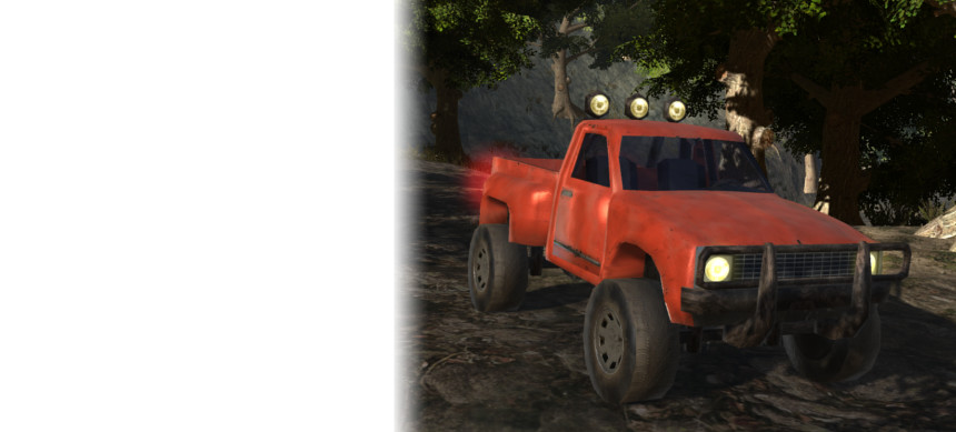 پکیج Offroad Pickup Animated Hands