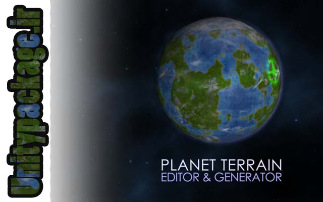 Planet terrain Editor & Generator (unitypackage.ir)