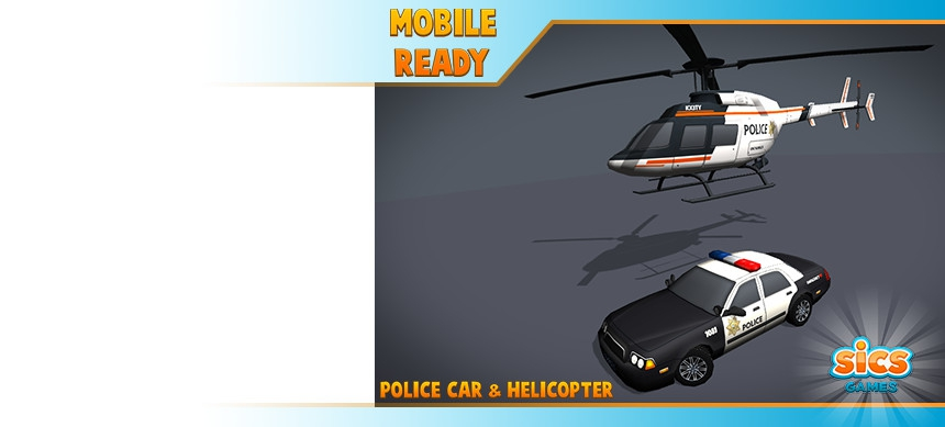 پکیج Police Car & Helicopter