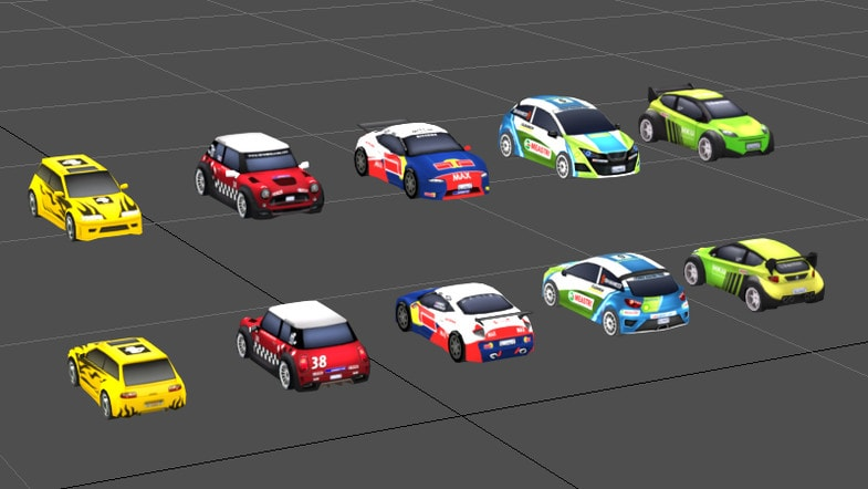 پکیج Rally Car Pack