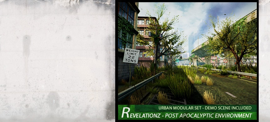 پکیج RevelationZ – Post Apocalyptic Environment Set