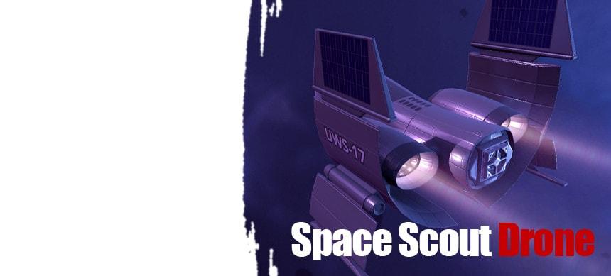 پکیج Sci-Fi Scout Drone