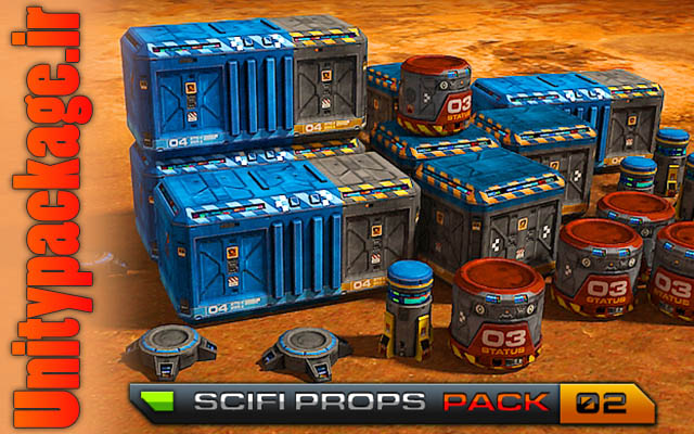 SciFi Base - Props Pack 02 (unitypackage.ir)