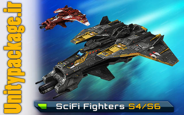 پکیج SciFi Fighters S4-S6 3.0