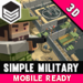 پکیج Simple Military - Cartoon War