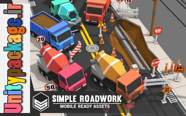 پکیج Simple Roadwork – Cartoon city 1.01