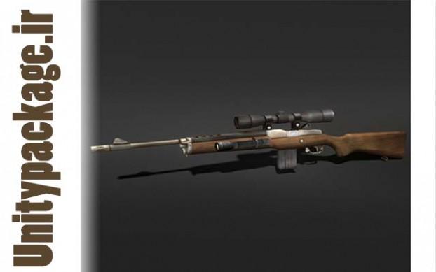 Sniper Rifle (unitypackage.ir)