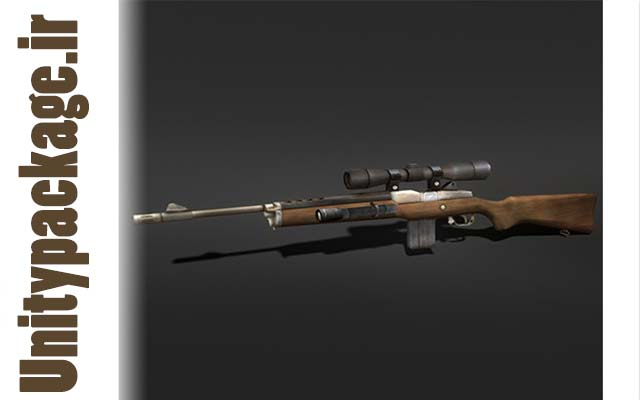 Sniper Rifle (unitypackage.ir)