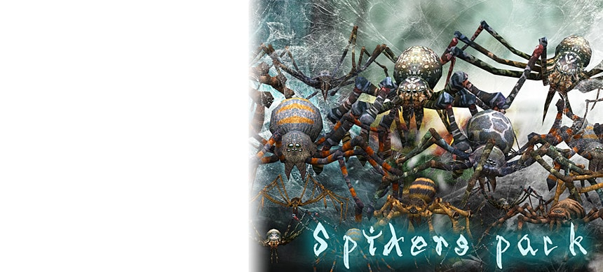 پکیج Spiders Pack