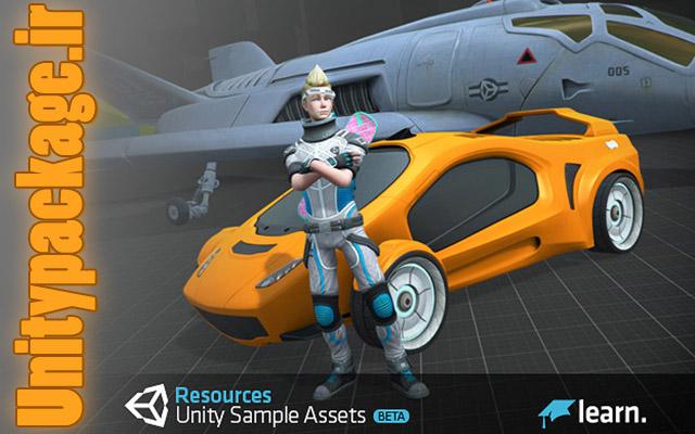 پکیج Standard Assets for Unity 4.6