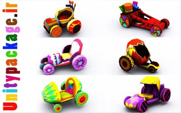 Sweet Car Pack 1 (unitypackage.ir)
