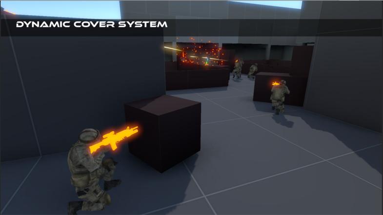 پکیج Tactical Shooter AI