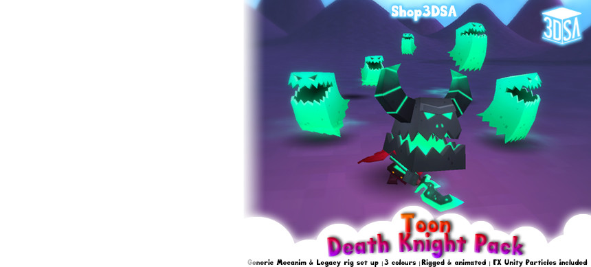 پکیج Toon Death Knight Pack