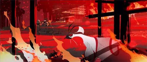 Toon Fire In Panda Kong Fu