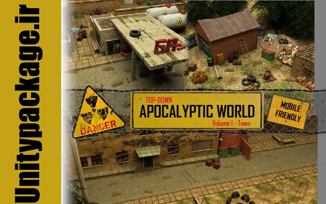 Top-Down Apocalyptic World Volume 1 - Town (unitypackage.ir)