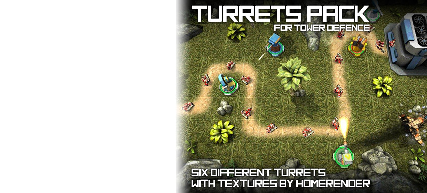 پکیج Turrets Pack