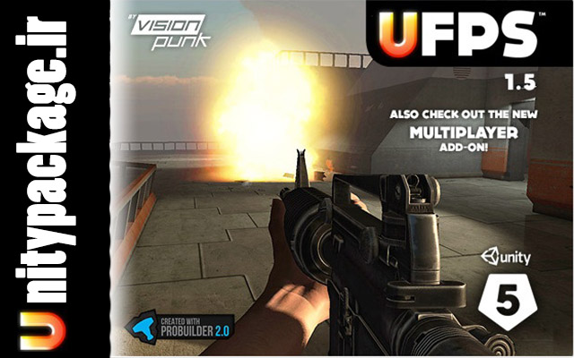 UFPS  Ultimate FPS 1.5.0 (unitypackage.ir)