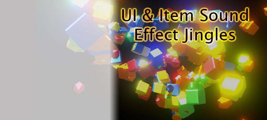 پکیج UI & Item Sound Effect Jingles Open in Unity