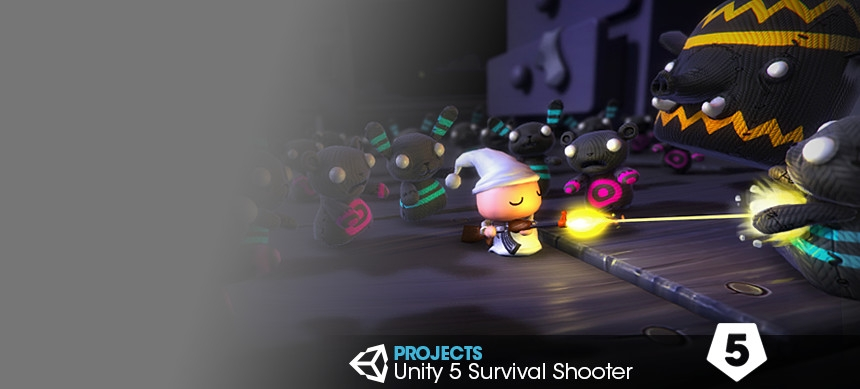 پکیج Unity 5 Survival Shooter
