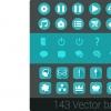 پکیج Vector Flat Icons