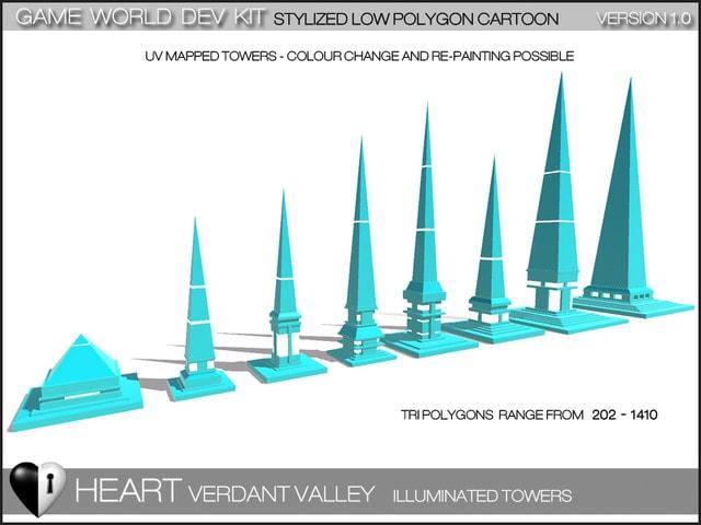 پکیج Verdant Valley - Stylized Nature Pack