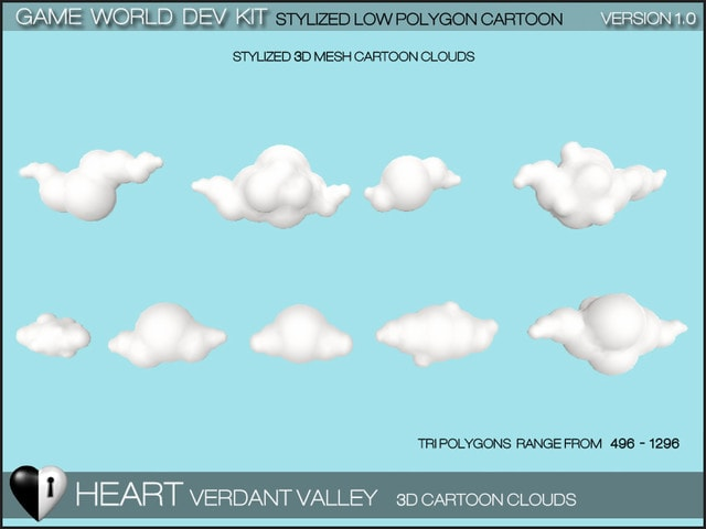 پکیج Verdant Valley - Stylized Nature Pack