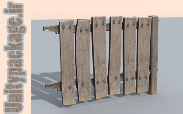 Wooden Plank Fence Construction Kit 1.0 (unitypackage.ir)