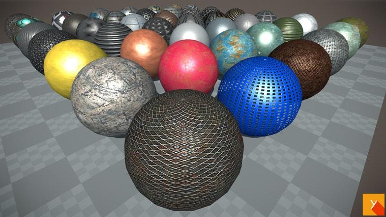 پکیج Yughues Free Metal Materials