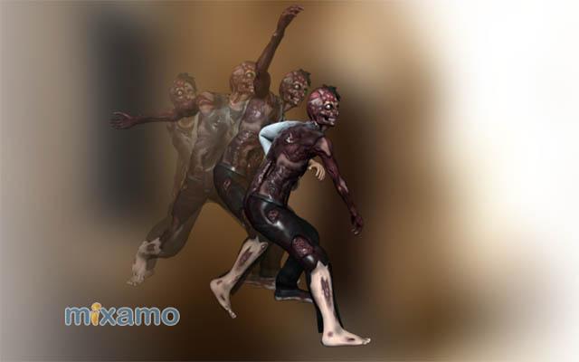 پکیج Zombie Motion Pack
